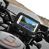 Rupse Motorrad Handyhalterung, Wasserdicht Motorrad Halterung 360°drehbar mit Touch-Screen GPS Oberrohrtasche Handytasche Fahrrad, Motorrad Tasche Halterung für Smartphone bis zu 5'