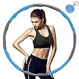 TTMOW Hula Hoop für Fitness,8 Abschnitte des abnehmbaren Hula Hoop können das Gewicht...