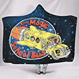 Dogedou Washed-Out Magic Cosmic School Bus Decke Super Weiche LargeSofa Chair Bed Office Reisen...