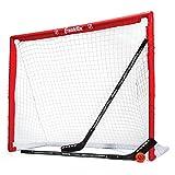 Franklin Inline Hockey Comp PVC Goal 46', Stick & Ball Set, rot, One Size