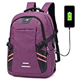 Tingxx Men's and Women's Backpack Luminous Backpack travel Leisure USB Backpack Student Schoolbag...