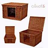 GalaDis 1-19 Katzenhaus (60 x 50 x 40 cm) Katzenkorb/Katzenbett/Hundehütte für kleine...