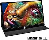 USB Monitor - 15,6 Zoll Tragbarer Monitor IPS Bildschirm 1920×1080 Full HD, Portable Monitor mit...