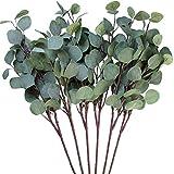 Amkun 3Stück künstliche Eukalyptusblättersprays in grün, 64,8cm hoch für Party Home...