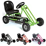 Hauck Lightning Go-Kart - Kinderfahrzeug, Reifen mit Gummiprofil, Handbremse für beide...