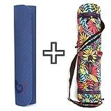 mantrafant Guru Elite Yogamatte mit Tasche | vegan und schadstofffrei | XL Yoga Set Eco | nachhaltig...