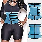 Lijincheng Bauchmuskel-Gürtel, verstellbar, für Fitness, Yoga, Body, rot, S