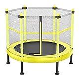 FQCD Kinder Trampolin for Kinder mit Sicherheitskabine, Innen- oder Außen Exercise Fitness...