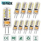Lacmisc G4 LED Lampen 2W 150LM warmweiß Umweltfreundliche Lampe Ersatz für 20W Halogenlampen...