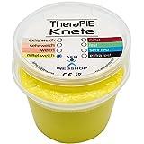 TheraPIE Knete, 454 Gramm (1 Pound), Therapie Knetmasse, Stärke Widerstand: mittel-weich (gelb)