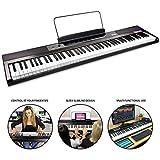 RockJam 88-Key Anfänger Digitale Klavier-Tastatur Klavier mit Full-Size halbgewichtete Tasten,...