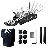 L&H Gadgets Fahrradwerkzeug Werkzeugsatz 16 in 1 Multifunktions-Fahrradreparaturwerkzeug 2...