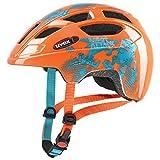 uvex Unisex Jugend, finale jr. Fahrradhelm, orange robot, 51-55 cm