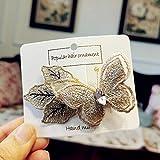 Kopfschmuck Koreanisches Haarklammer, bestickt, Kristall, Schmetterlingsmotiv, handgefertigt,...