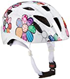 Alpina Kinder Radhelm Ximo Flash Fahrradhelm, white-flower, 47-51 cm