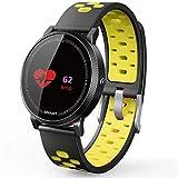 Smart Armband Runde Farbe Wasserdicht Ip68 Herzfrequenz Blutdruck Blut Sauerstoff Sport wasserdichte...