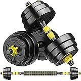 Gewichtsset für Gewichtheben und Bodybuilding für die Trainingsanpassung im Fitnessstudio Body...