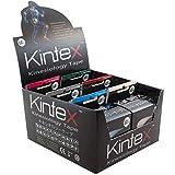 Kintex 6 Rollen Kinesiologie-Tape mit Aufsteller, gemischt, 30m, Physio-Tape, Therapie-Tape,...