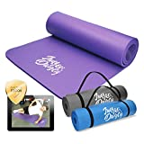 Jung & Durstig Original Yogamatte | Fittnessmatte inklusive Bauch Beine Po Workout als Ebook |...