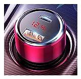 LINMAN 45W Autoladegerät QC 4.0 3.0 Supercharge SCP Samsung AFC Schnellladung Schnelle PD USB C Tragbare Telefongebühr (Plug Type : Black 1 USB 1Type C)