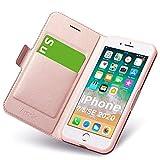 Hülle iPhone 8, Hülle iPhone SE 2020, iPhone 7 Schutzhülle mit Kartenfach, iPhone 8 Tasche Leder,...