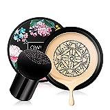 Freeor Pilz Luftkissen BB Cream, Concealer Nude Make-up Feuchtigkeitsspendende Aufhellung CC...