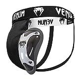 Venum Competitor Supporter mit Tiefschutz , Größe:M;Farbe:Schwarz-Silber