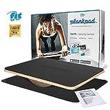 Fit for Fun Plankpad, interaktiver Ganzkörper-Trainer, mit passender App für Spiele & Workouts,...