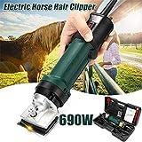 ZPL Shears 690W Pferdeschermaschine Haarschneidemaschine Schermaschine für Pferde und Schafe Durch leicht wechselbare Köpfe für beide Tiersorten geeignet