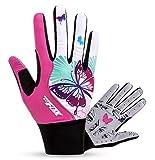 FREEMASTER Radfahren Handschuhe Damen Touch Screen Sport Mountain Road Bike Fahrrad Handschuhe Pink...