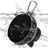 Onforu Bluetooth Lautsprecher, IPX7 Wasserdicht Bluetooth 5.0 Duschlautsprecher mit Fahrradhalter,...