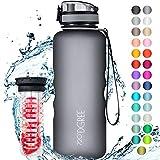 """720°DGREE Trinkflasche """"uberBottle"""" +Früchtebehälter - 1,5L - BPA-Frei - Wasserflasche für..."""
