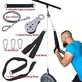 NMT Kabel Maschine Aufsätze Seil D-Griff Kabelzug optional für Fitnessgerät Gewichtheben Workout...