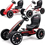 BPD Abarth GoKart Tretauto Gocart Pedal Tretfahrzeug für Kinder 3-6 Jahre