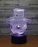 Fußball Persönlichkeit Kreative Geschenke Led 3d Nachtlichter Seltsame Stände Dekorative Lichter...