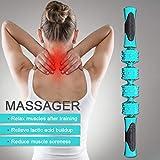 Muskel-Roller-Stick, Yoga-Roller, Fitness-Massagegerät, Yoga-Tiefenmuskelentspannung,...