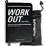 FastBodyFit Trainingstagebuch für das Krafttraining mit über 200 Seiten, Progress Log und Kalender...
