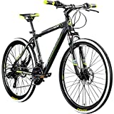 Galano 26 Zoll Toxic Mountainbike Hardtail MTB Jugendmountainbike Jugendfahrrad (schwarz/grün, 46...