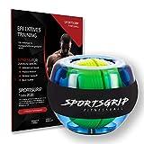 SPORTSGRIP Handtrainer Sport Ball (2020) - Fingertrainer für Handgelenk, Unterarm, Griff, Hand,...