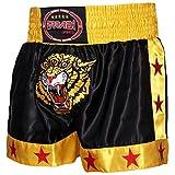 Shorts für Muay Thai / Kickboxen, mit Tigermuster M