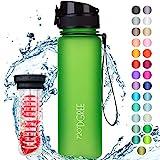 """720°DGREE Trinkflasche """"uberBottle"""" +Früchtebehälter - 500ml - Auslaufsicher, BPA-Frei - Für..."""