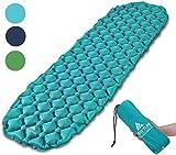 Hikenture Unisex Adult hiken05 Kleines Packmaß Ultraleichte Aufblasbare Isomatte-Sleeping Pad für...