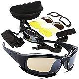 Unbekannt ZhangC Sonnenbrille, Personality Fashion Unisex Schlagfest Sport Sonnenbrille Set mit...