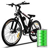 Eloklem E-Bike Mountainbike Elektrofahrrad mit 21-Gang Shimano Nabenschaltung, 250W, 8AH, 36V...