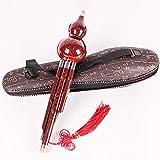 Hulusi Cucurbit Musikinstrument, Chinesisch Traditionell Instrument C Taste Harz Material Mit...