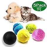 Magic Roller Ball, Haustier-elektrischer Spielzeug-Ball, 2-in-1-Funktion Pet Electric Toy Ball mit 4...