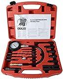 SONGYU 17-teiliges Dieselmotor-Kompressionstester-Kit Werkzeugsatz Kfz-Kompressor