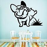 BailongXiao Cartoon pet Hund wanddekoration wandaufkleber Dekoration Wohnzimmer zubehör...