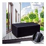 WKZWY Sitzauflagen Gartenmöbel Rechteck Im Freien Staubdicht Dauerhaft Tisch Stuhl...