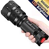 REHKITTZ LED Taschenlampe,Extrem Hell CREE Handlampe für...